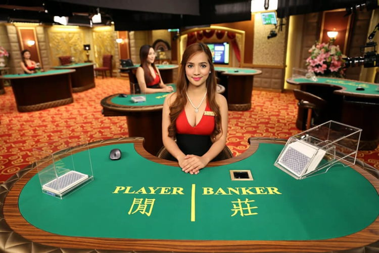 Live Baccarat online and demo game mode